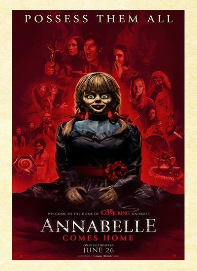 دانلود فیلم آنابل 3 2019 Annabelle Comes Home